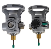 Integrated Valve/Regulator Combination - Oxygen