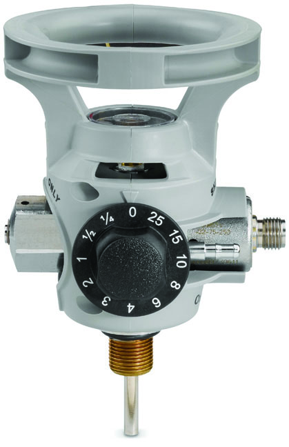 OxyGen I Series, Oxygen Valves w/Integrated Regulators