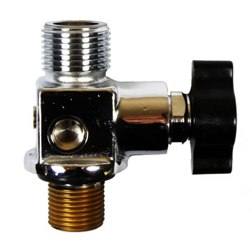 YVBA Series - Vertical Outlet Oxygen Valves