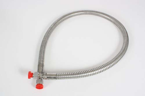 Cryogenic liquid cylinder hose transfer hoses