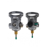FOR USE WITH STEEL CYLINDERS - INTEGRATED OXYGEN VALVE AND REGULATOR COMBINATION WITH STANDARD FILL SHUT OFF VALVE